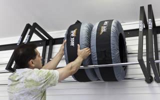 Как сделать подставку для шин