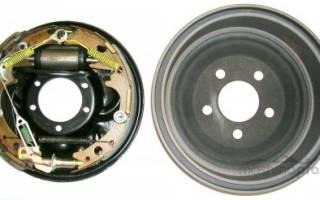 Как поменять барабанные тормозные диски