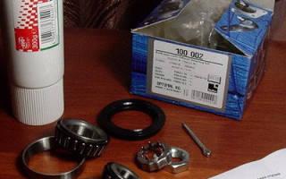 Как поменять подшипник в тормозном диске