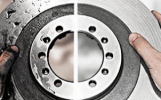 Как самостоятельно проточить тормозной диск