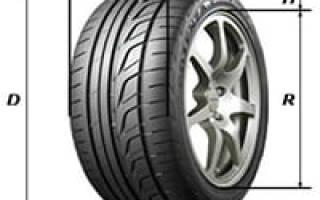 Как определить размер шины в дюймах
