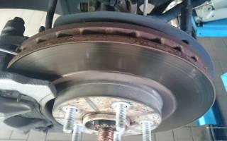 Как отличить оригинальный тормозной диск тойота
