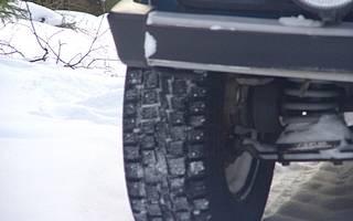 Какие шины ставить зимой на ниву