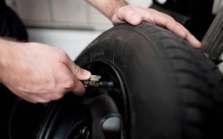 Как подкачать шины на заправке