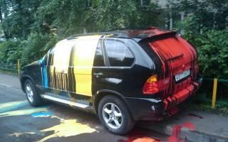 Как убрать краску с шины
