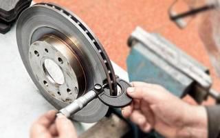 Как узнать что стерлись тормозные диски