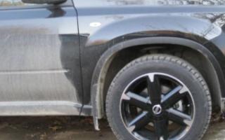 Какие шины можно на x trail