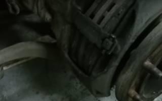 Как поменять задний тормозной диск на опель зафира