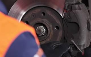 Как снять тормозные диски рено лагуна