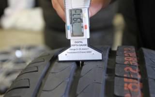 Какая минимальная глубина протектора на зимних шинах