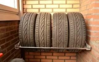 Как хранить зимние шины с дисками