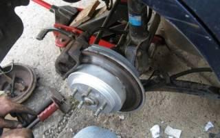 Задние тормозные барабаны как заменить на диски