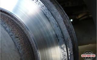 Как самостоятельно заменить тормозные диски