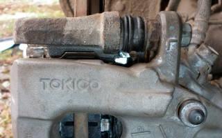Как снять задний диск тормозной на тойота королла е120