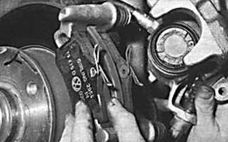 Как заменить задний тормозной диск на пассат б5