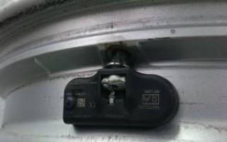 Как установить датчик давления в шинах volkswagen