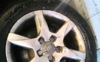 Как отмыть колесные диски