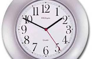 Настенные часы как тормозной диск