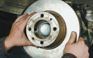 Как менять тормозной диск на классике