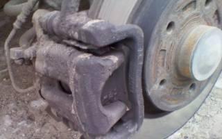 Как поменять тормозной диск на рено кангу