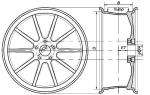 Как узнать диаметр тормозного диска ваз