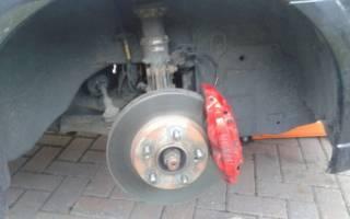Как снять тормозной диск со ступицы ниссан альмера