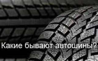 Какие автомобильные шины бывают