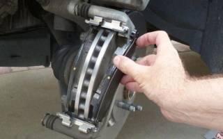 Как отремонтировать тормозные колодки на диске