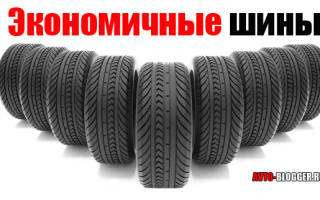 Какие шины самые экономичные