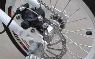 Как установить тормозной диск на велосипедное колесо