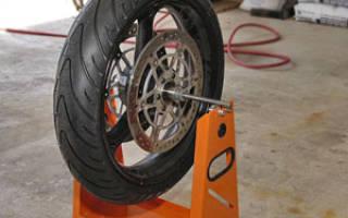 Как выровнять тормозной диск на скутере