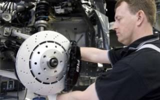 Как заменить передние тормозные диски на паджеро 4