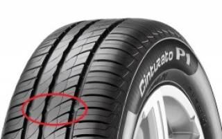 Как узнать глубину протектора новой шины