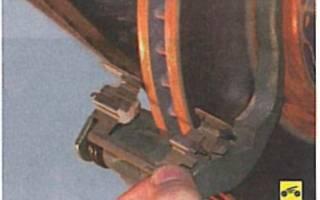 Как поменять передний тормозной диск на лансер 9