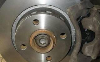 Как определить износ переднего тормозного диска