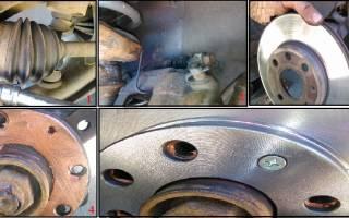 Как поменять передний тормозной диск на матизе