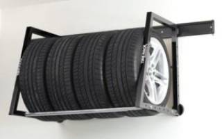 Как хранить шины с дисками на балконе