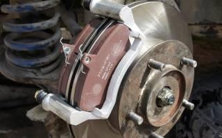 Как поменять тормозного диска на ниве 21213