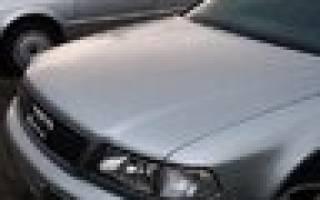 Как заменить передние тормозные диски на ауди 100 45 кузов