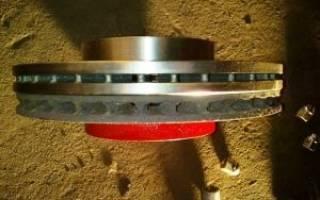 Какая должна быть выработка тормозных дисков