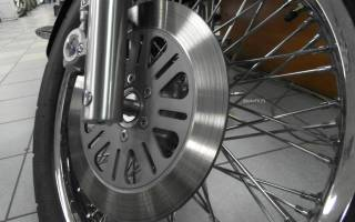 Как снять тормозной диск на мотоцикле