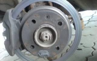 Как узнать степень износа тормозных дисков