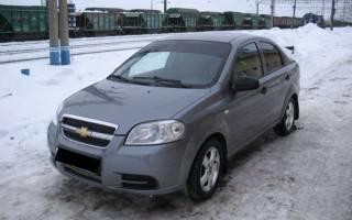 Chevrolet aveo какие шины