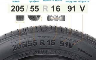 Как понимать размерность шин