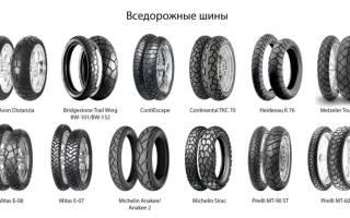 Как выбрать на шины мотоцикл