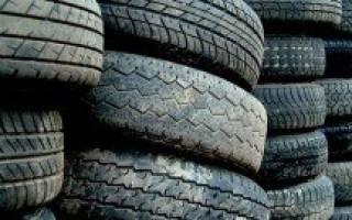 Как лучше хранить шины зимой