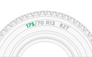 Как расшифровывать маркировку шин