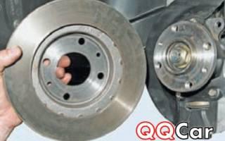 Как поменять передние тормозные диски на приоре фото