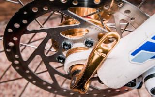 Как снять передний тормозной диск с велосипеда