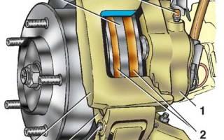 Как заменить передний тормозной диск на ваз 21214